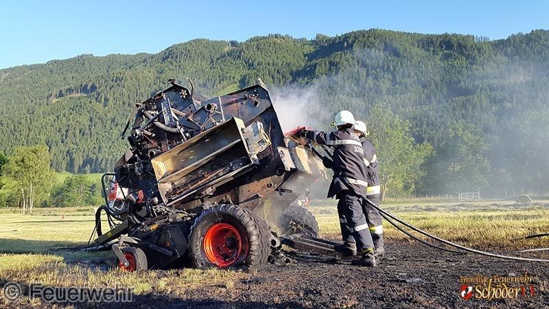 B-08 Fahrzeugbrand